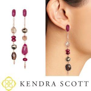 NWT Kendra Scott Cosette earrings - pink